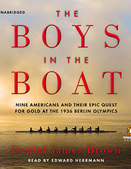 The Boys in the Boat, James Daniel Brown, rowing, 1936 olympics